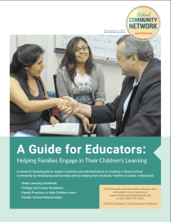 A Guide for Educators