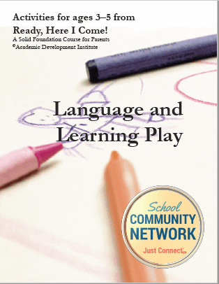 Language and Learning Play